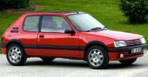 imagem do carro versao 205 GTi 1.9
