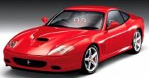 imagem do carro versao 575M Maranello 5.7 V12 F1