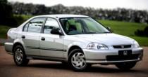 imagem do carro versao Civic LX 1.6