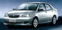 imagem do carro versao Corolla XLi 1.6