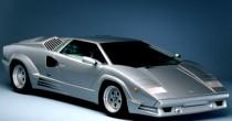 imagem do carro versao Countach 25th Anniversary 5.2 V12