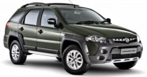 imagem do carro versao Palio Weekend Adventure 1.8 16V Dualogic