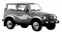 imagem do carro versao Samurai JX Metal Top 1.3