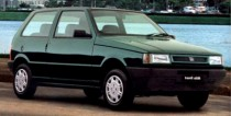 imagem do carro versao Uno Mille Smart 1.0