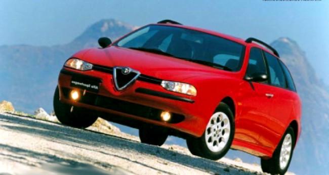 imagem do carro versao 156 Sport Wagon 2.0