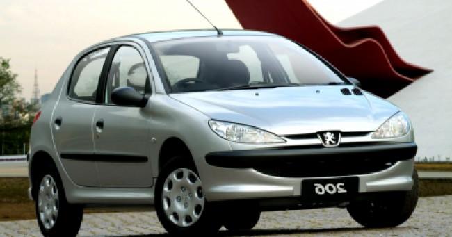 imagem do carro 206