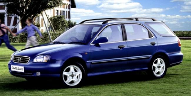 imagem do carro versao Baleno Wagon GLX 1.6 16V