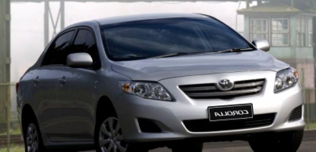 imagem do carro versao Corolla XLi 1.8 AT