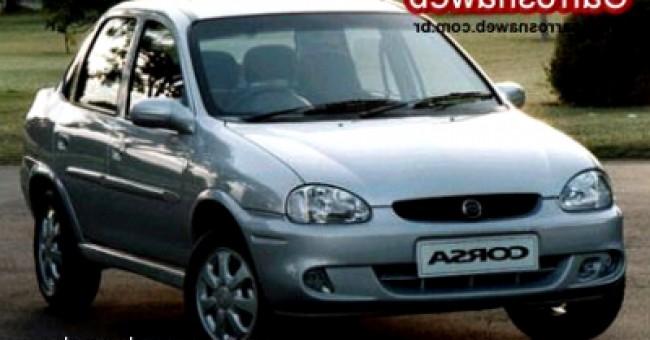 imagem do carro versao Corsa Sedan GLS 1.6 16V