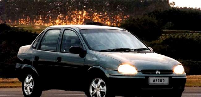 imagem do carro versao Corsa Sedan GLS 1.6 8V