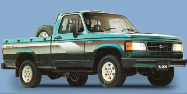 imagem do carro versao D-20 Custom De Luxe 4.0 CS