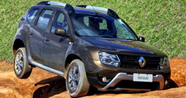 imagem do carro versao Duster Dynamique 2.0 4x4