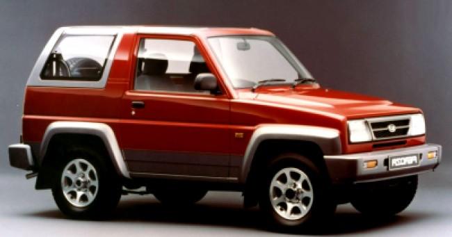 imagem do carro versao Feroza SX 1.6