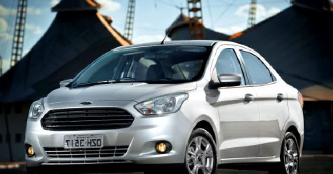 imagem do carro versao Ka Sedan SE 1.0
