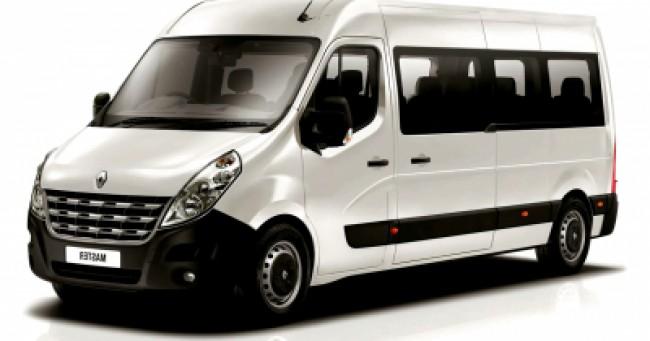 imagem do carro versao Master Minibus 2.3