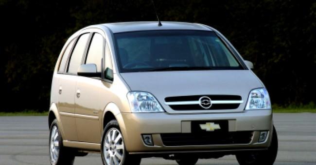 imagem do carro versao Meriva 1.8 16V