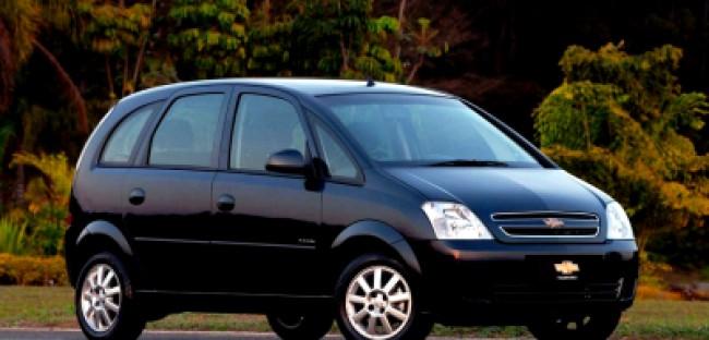 imagem do carro versao Meriva Joy 1.4