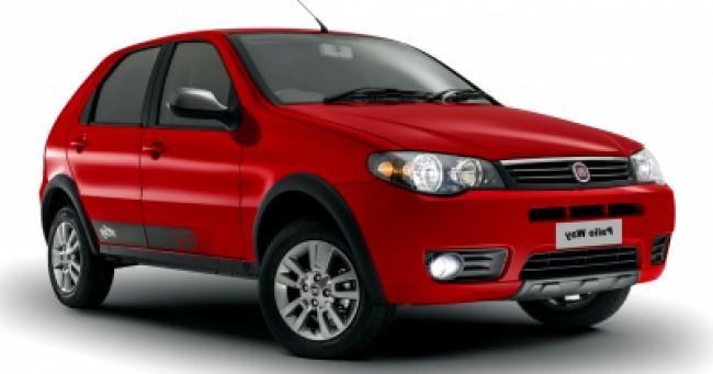 imagem do carro versao Palio Fire Way 1.0
