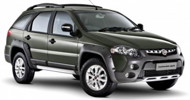 imagem do carro versao Palio Weekend Adventure 1.8 16V Dualogic