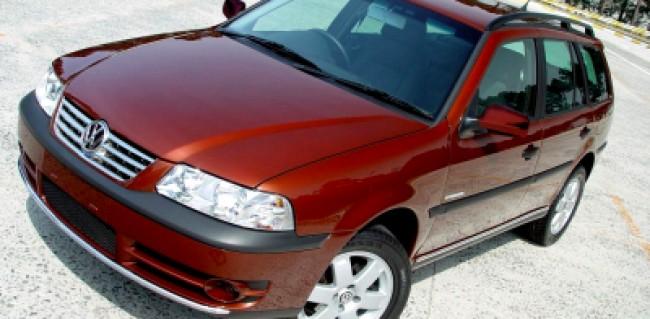 imagem do carro versao Parati Crossover 2.0