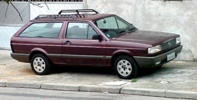 imagem do carro versao Parati GL 1.8