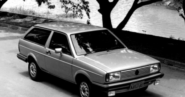 imagem do carro versao Parati Plus 1.6