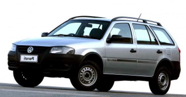 imagem do carro versao Parati Titan 1.6