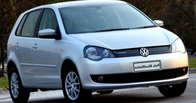imagem do carro versao Polo Bluemotion 1.6