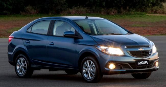 imagem do carro versao Prisma LT 1.4 AT