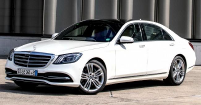 imagem do carro S560