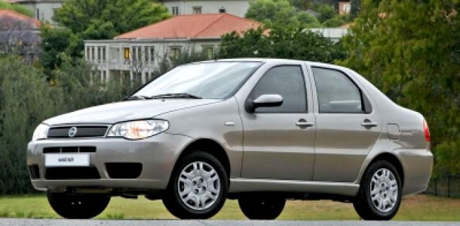 imagem do carro versao Siena ELX 1.3