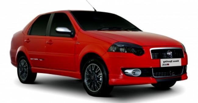 imagem do carro versao Siena Sporting 1.6 16V