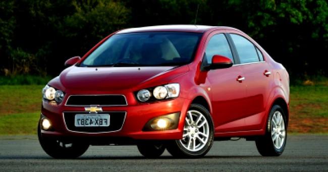 imagem do carro Sonic Sedan