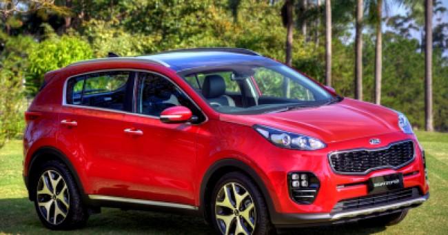 imagem do carro versao Sportage EX 2.0 AT
