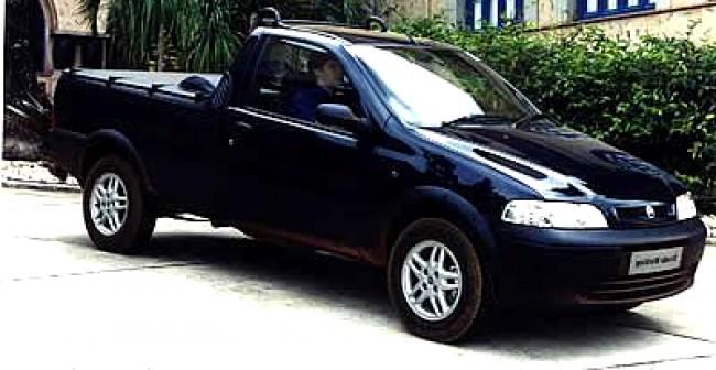 imagem do carro versao Strada Working 1.8 CS