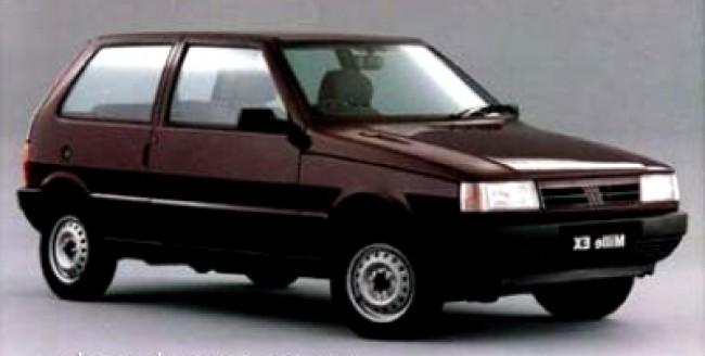 imagem do carro versao Uno Mille EX 1.0